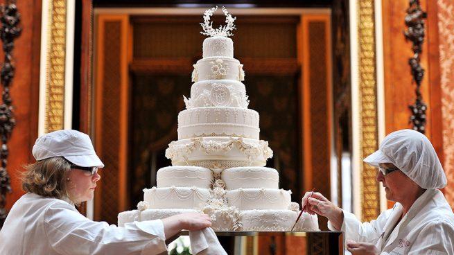 El pastel de boda de Kate y Guillermo / Gtres
