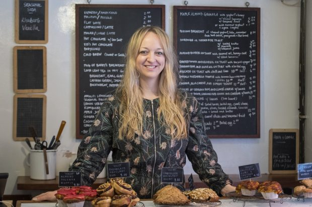 Claire Ptak, la encargada del pastel / Gtres
