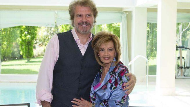 María Teresa Campos y Edmundo Arrocet comienzan su tour de firma de discos
