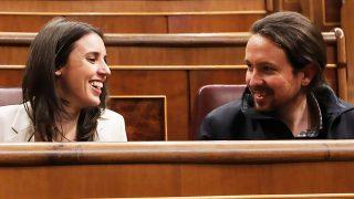 Pablo Iglesias e Irene Montero en una imagen de archivo / Gtres