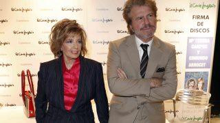 María Teresa Campos y Edmundo parecían sonrientes pese a todo /Gtres