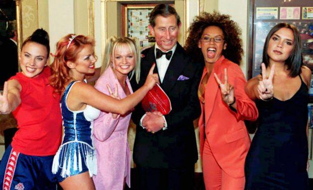 Vuelve el 'girl power': Las Spice Girls se reencuentran con el príncipe Carlos