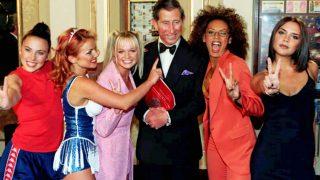 El príncipe Carlos y las Spice Girls / Gtres