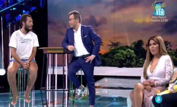 Alberto Isla se reencuentra con Chabelita en el plató de 'Supervivientes'/ Mediaset