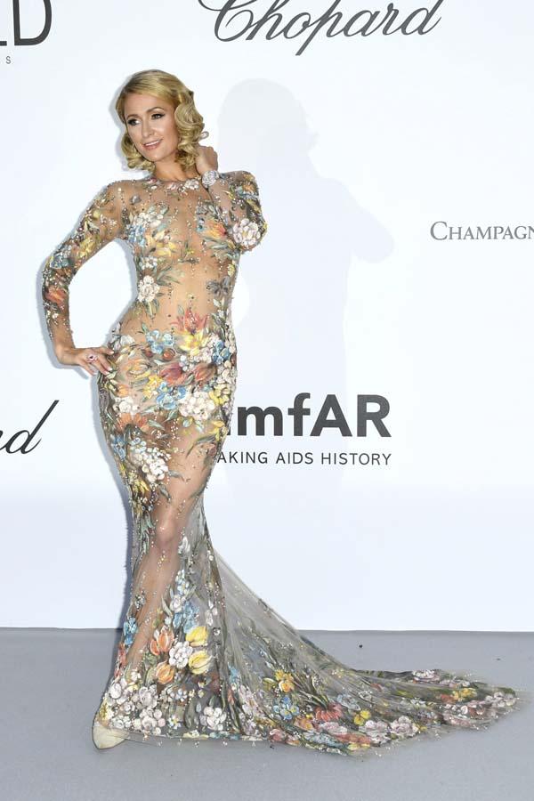 Paris Hilton Gala amfAR 2018