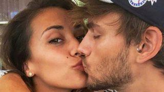 Sergio Carvajal y su novia, Natalia García/ Instagram