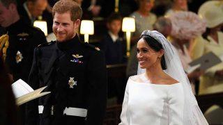 Así ha sido la ceremonia de enlace del príncipe Harry y Meghan Markle / Gtres