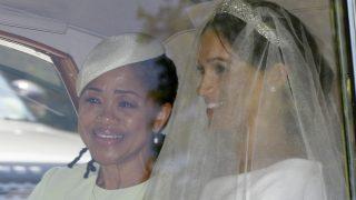 Primera instantánea de Meghan Markle vestida de novia /Gtres