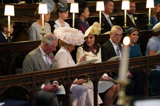 Príncipe Carlos, Camila Parker y Kate Middleton