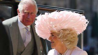 Asi ha sido la llegada de la Familia Real británica a la boda de Meghan Markle y Harry/ Gtres