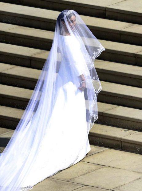 Llegada de Meghan Markle a la capilla San Jorge de Windsor / Gtres