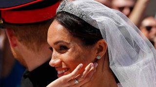 La tiara de Meghan Markle, al detalle / Gtres
