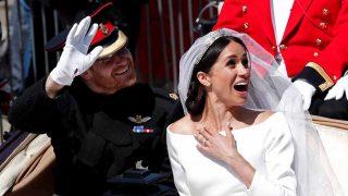 Harry y Meghan, felices tras convertirse en marido y mujer / Gtres