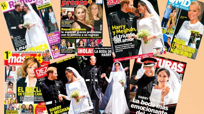 Revistas boda harry