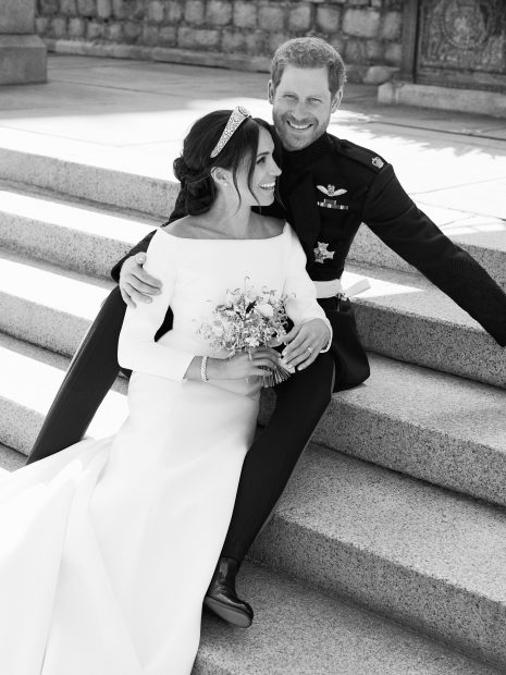 Por fin ven la luz las fotos oficiales de la boda de Meghan y Harry