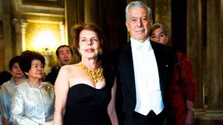 Vargas Llosa y su exmujer, Patricia, en una imagen de archivo / Gtres