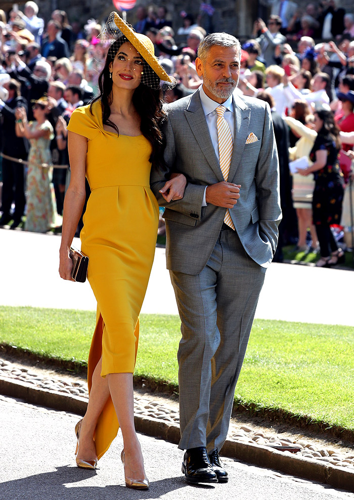 Amal Clooney mejor vestida boda Harry Meghan Stella mccartey