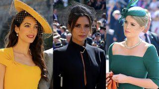 Amal Clooney, Victoria Beckham y  Kitty Spencer en la boda de Meghan y Harry / Gtres