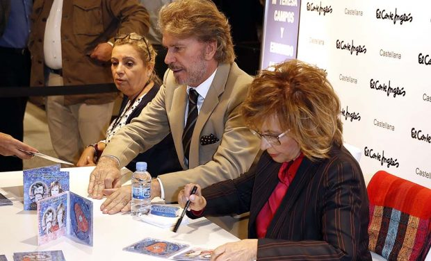 María Teresa Campos reconoce el fracaso de su firma de discos: «En un principio me enfadé»