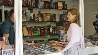 Doña Letizia en la Feria del libro / Gtres