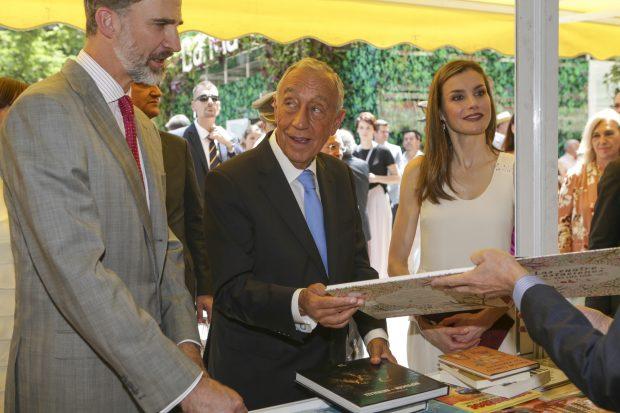 El clima da una tregua a la Reina: Podrá estar en la inauguración de la Feria del libro