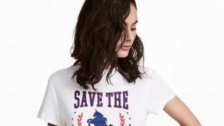 Camiseta 'Save the Unicorns' de H&M