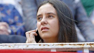 Victoria Federica, ya sentada en su sitio, en la corrida del 24 de mayo / Gtres