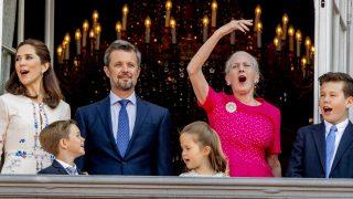 El 'balcón real' en el 50 cumpleaños de Federico de Dinamarca /Gtres