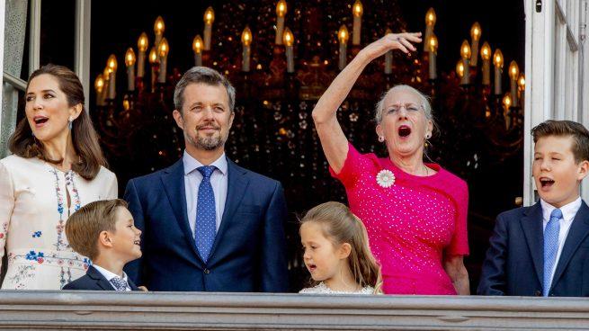 Federico Dinamarca reina Margarita