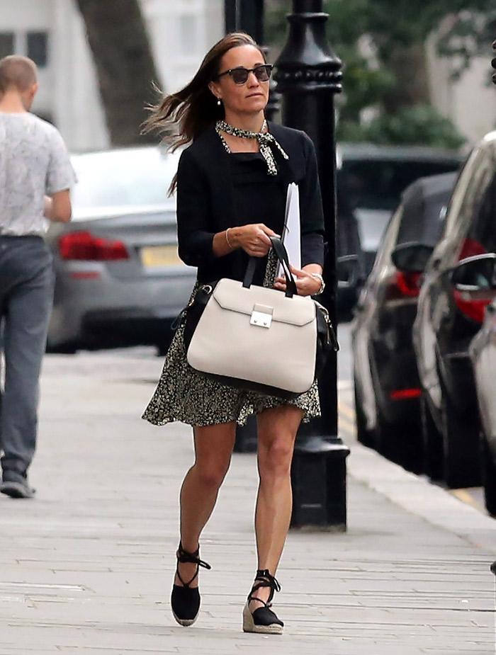 Pippa Middleton castañer
