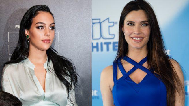 Pilar Rubio y Georgina Rodríguez