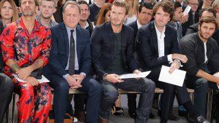 David Beckham, el hombre del 'front row' / Gtres