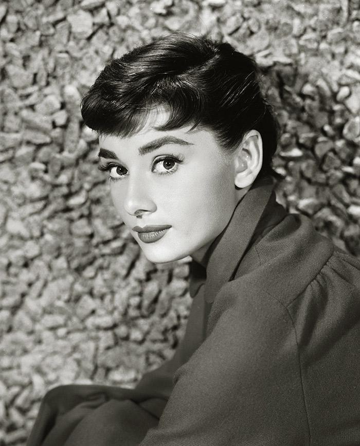 cejas Meghan Markle audrey Hepburn