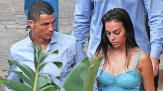 Galería: Cristiano y Georgina salen a cenar a un restaurante de lujo / Gtres