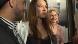 Yana Olina en el photocall de la premier de 'El Intercambio' en Madrid / Gtres