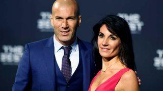 Zinedine Zidane y su mujer Véronique en una imagen de archivo / Gtres