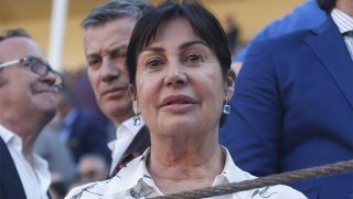 Carmen Martínez Bordiú durante la Feria de San Isidro 2018 en Madrid / Gtres