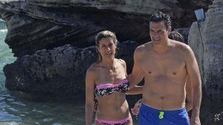 Pedro Sánchez durante unas vacaciones en Ibiza /Gtres