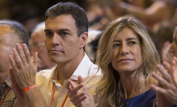 Pedro Sánchez y Begoña Góme