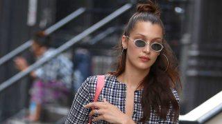 La modelo Bella Hadid en Nueva York. / Gtres
