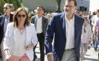 Elvira Fernández y Mariano Rajoy