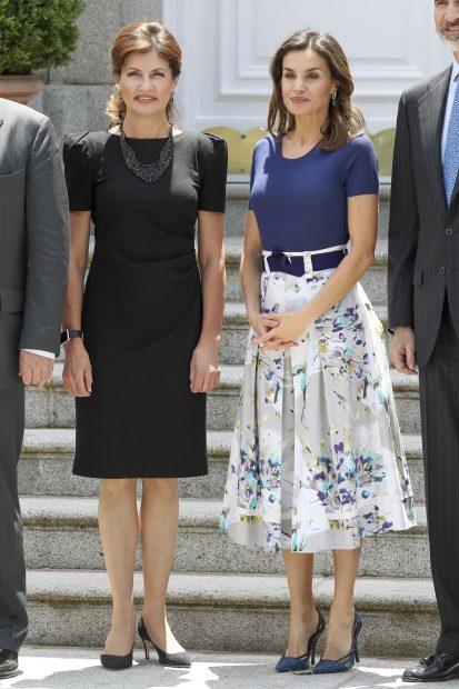 Maryna Poroshenko y Letizia
