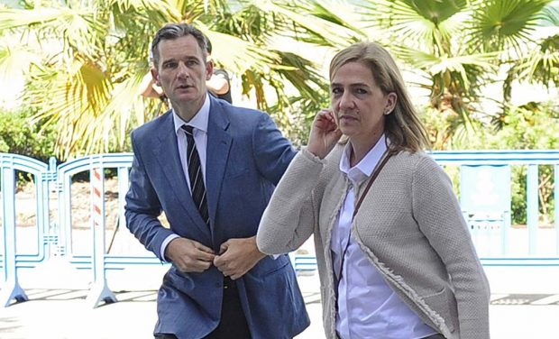 Iñaki Urdangarín y Cristina de Borbón