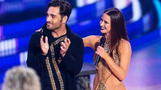David Bustamante y Yana Olina, durante la gala / Gtres