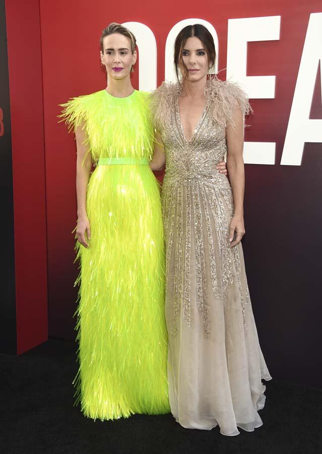Sarah Paulson y Sandra Bullock Ocean's 8 Premiere