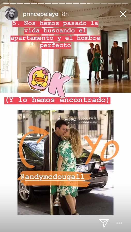 Instagram Pelayo Díaz