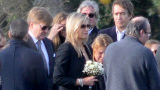 Máxima de Holanda en el entierro de su hermana Inés /Gtres