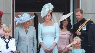 Meghan Markle ha debutado en su primer balcón del Palacio de Buckingham /Gtres