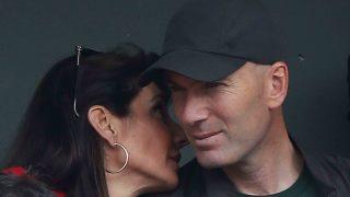 Zidane y su esposa en el Roland Garros /Gtres