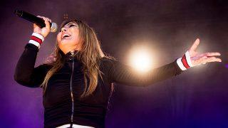 Amaia Montero durante un concierto / Gtres